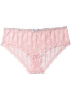 Трусики-хипстеры (розовый/серый) Bonprix