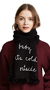 Kate Spade New York Baby Its Cold Outside Muffler