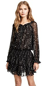 LOVESHACKFANCY Night Sky Popover Dress