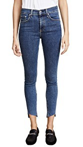 Rag & Bone/JEAN Ankle Skinny Jeans