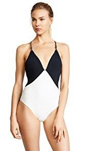 ViX Swimwear Betsey Black One Piece
