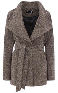 Женское пальто с поясом La Reine Blanche