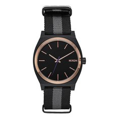 Кварцевые часы Nixon Time Teller Black/Rose Gold/Charcoal