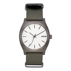 Кварцевые часы Nixon Time Teller Gunmetal/Silver/Surplus