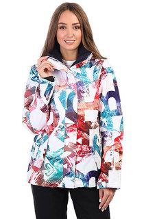 Куртка утепленная женская Roxy Rx Jetty Bright White_mountai