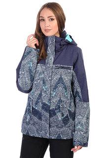 Куртка утепленная женская Roxy Rx Jetty Blo Peacoat_avoya
