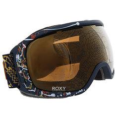 Маска для сноуборда женская Roxy Rockferry Peacoat hackney Empire