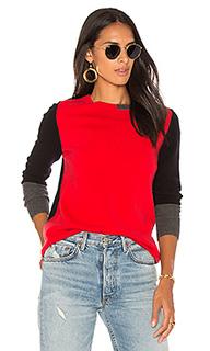Пуловер с цветными блоками - 525 america