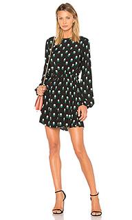 Мини платье с завязкой - Diane von Furstenberg