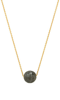 Power gemstone bead adjustable necklace - gorjana