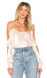Блуза с открытыми плечами the open sleeve - LAcademie