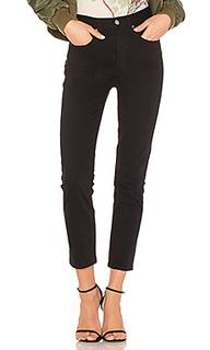 Укороченные джинсы double needle - RE/DONE
