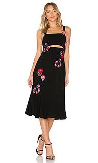 Платье с вырезами olivia - Tanya Taylor
