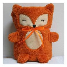 "Трансформер Плед-Игрушка ""Оранжевая Лисичка"", 60x90 см, Coool Toys"