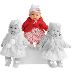 Кукла Азалия в красном, 27 см, Munecas Antonio Juan