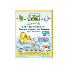Детская морская соль для ванн, Babyline, 500 гр.