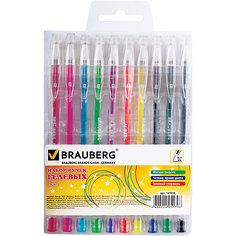 "Гелевые ручки""Jet"", 10 шт., 0,7 мм Brauberg"