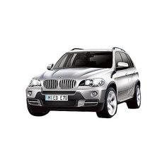 Машина BMW X5, 1:18, со светом, р/у, RASTAR, серебристый