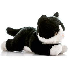 Мягкая игрушка Котенок черный, 28 см, AURORA