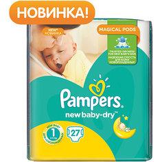 Подгузники Pampers New Baby-Dry Newborn, 2-5 кг., 27 шт.