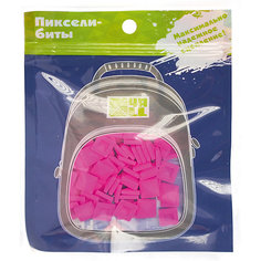 Набор для рюкзака 4ALL пиксель-Бит, ярко-розовый, 80 шт