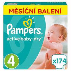 Подгузники Active Baby-Dry Maxi 4 (8-14 кг), 174 шт. Pampers