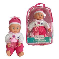 "Кукла Полли ""Милый болтун"", 33 см, м-н, озвуч., рюкзак Mary Poppins"