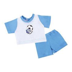 Одежда для куклы 38-43см, футболка и шорты Спорт Mary Poppins