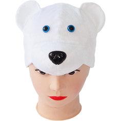 """Маска """"Медведь белый"""" Пуговка"""