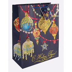Бумажный пакет Яркие игрушки для сувенирной продукции, с ламинацией Magic Time