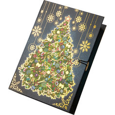 Подарочная коробка Новогодняя ночь-M Magic Time