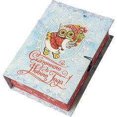 Подарочная коробка Новогодняя сова-M Magic Time