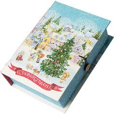 Подарочная коробка Новогодняя площадь-M Magic Time
