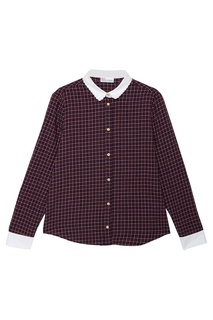 Рубашка с контрастным воротником RED Valentino
