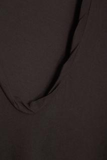Серая футболка из хлопка James Perse