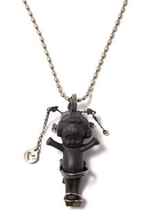 Серебряное колье с пупсом Geisha Gem Kingdom