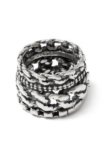 Серебряное кольцо с гравировкой Gem Kingdom