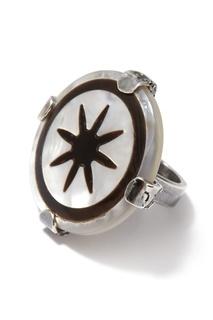 Кольцо с перламутром Gem Kingdom