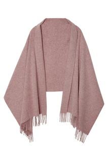 Розовый шарф с бахромой Canada Acne Studios