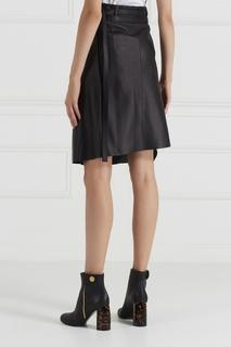 Кожаная юбка с запахом Lakos Acne Studios