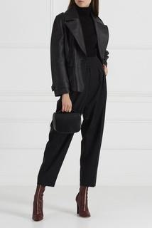 Черные брюки со складками Frank Sportmax Code