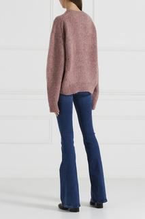 Голубые джинсы-клеш Bodycon Marrakesh MiH Jeans