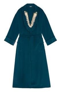 Платье-халат с вышивкой Alena Akhmadullina