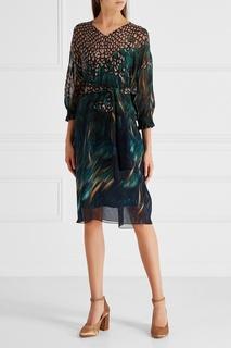 Шелковое платье с завязками Alena Akhmadullina