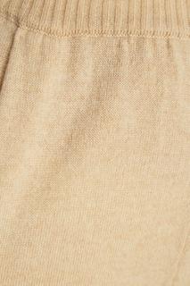 Бежевые брюки из кашемира Alena Akhmadullina