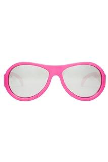 Зеркальные розовые очки Babiators