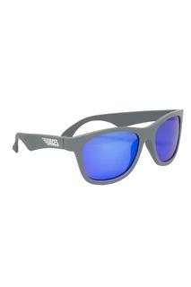 Голубые зеркальные очки Babiators