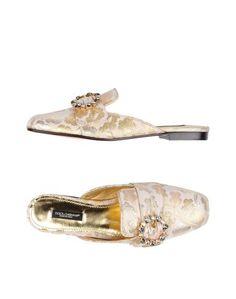 Мюлес и сабо Dolce & Gabbana
