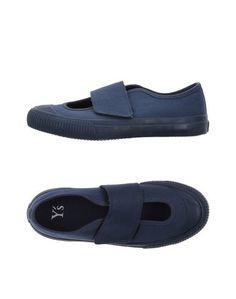 Низкие кеды и кроссовки YS Yohji Yamamoto
