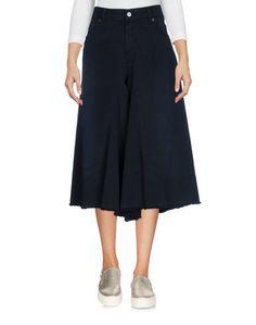 Джинсовые брюки-капри MM6 BY Maison Margiela